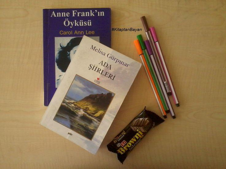 KitaptanBayan: #okuduklarım2: Ada Şiirleri/Melisa Gürpınar