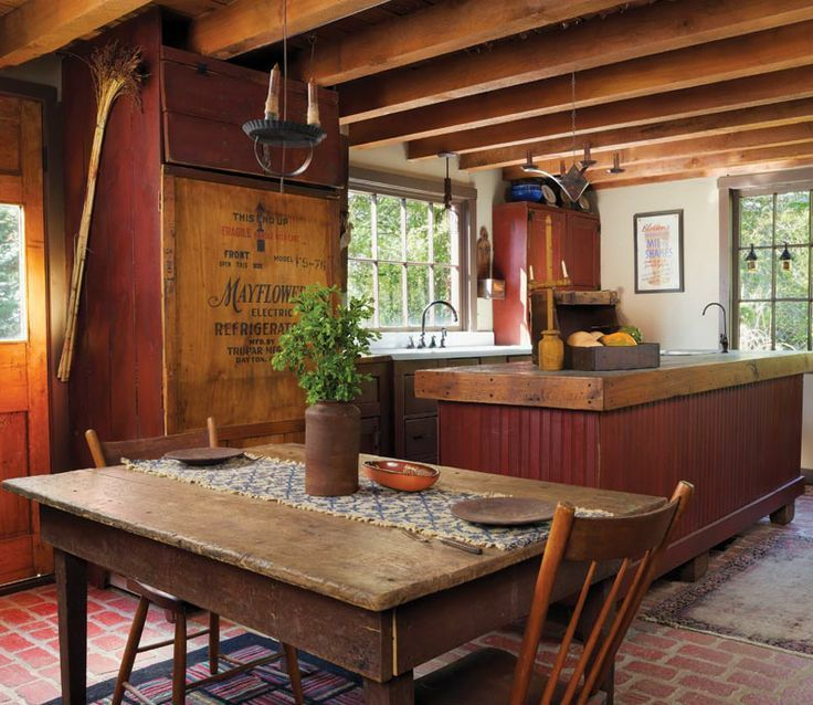 folks country kitchen 1861 best primitive homes decor images on 1042