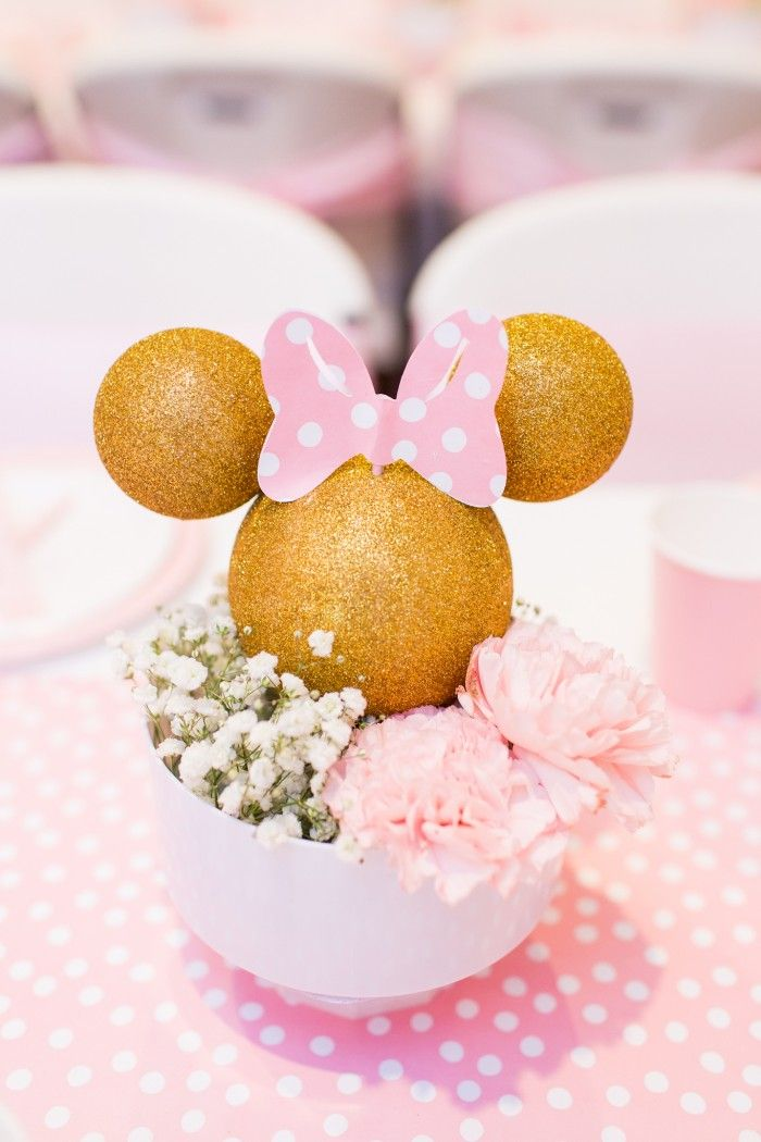 Pink & Gold Minnie Mouse Party by Lysi: a collection of ...