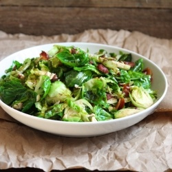 Brussels Sprouts with Bacon Hazelnuts. | Food-Sides | Pinterest ...