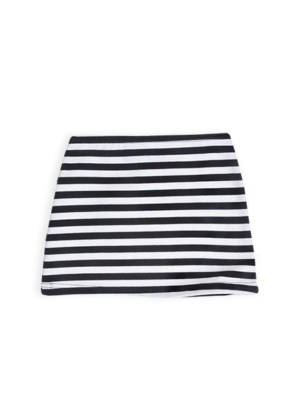 Charlie&me - striped ponti skirt