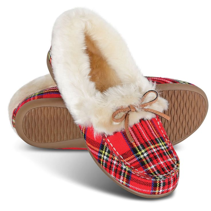 The Lady's Plantar Fasciitis Cozy Slippers - Hammacher Schlemmer