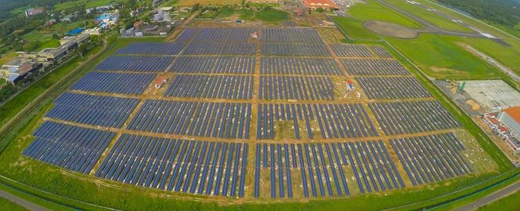 The world's first solar-powered airport is no longer paying for electricity - ScienceAlert