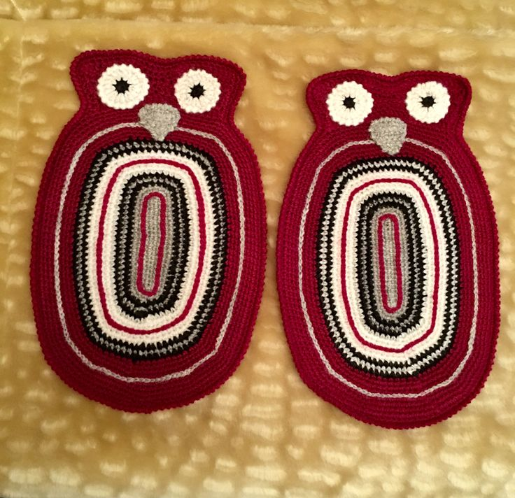 Bayetas vintage crochet