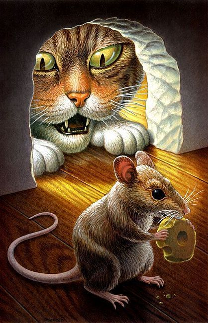 Cat and Mouse  by John Thompson