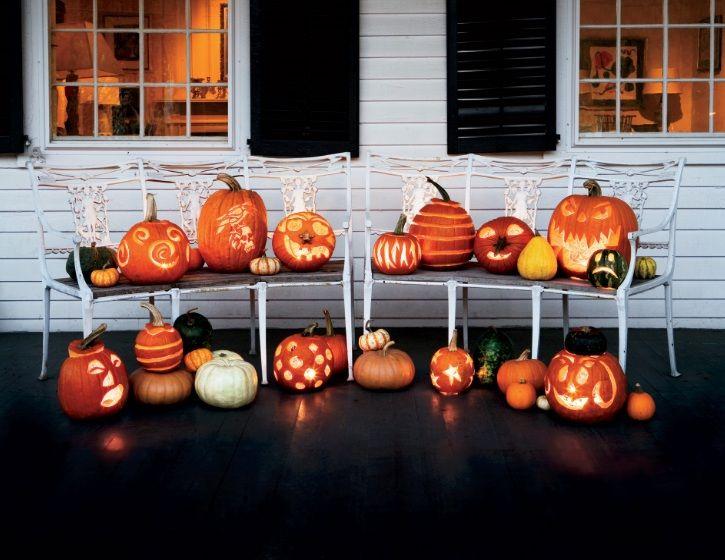 Необычные головы Джека. #Хэллоуин #Helloween  #оформлениехэллоуина #страшныйхеллоуин #фонарьджека #Хеллоуин #оформление #декор #дизайн #банкет  #флористика #композиция