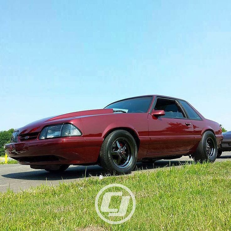 Phil's Foxbody #Mustang is ready to break some hearts at the track.