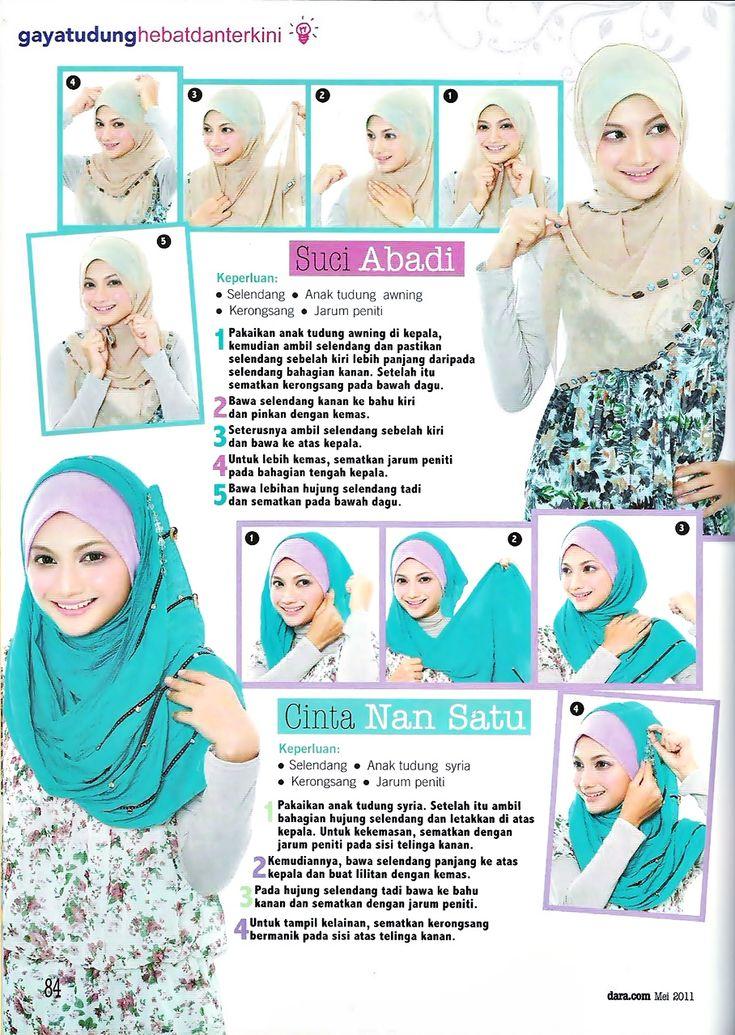Hijab Tutorial Agaaiinn!