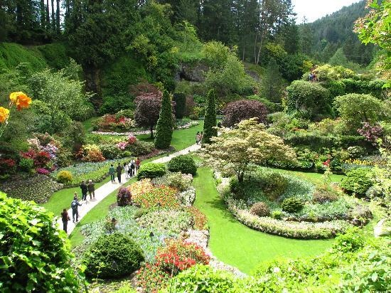 Butchart Gardens Victoria Canada Places I Have Visited Pinterest Gardens D And Canada