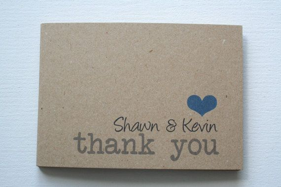 We love Recycled card for the Vintage weddings!