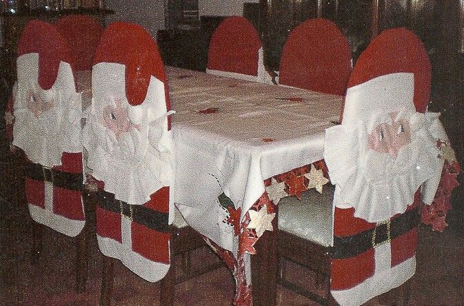 Forro de silla -  Navideños