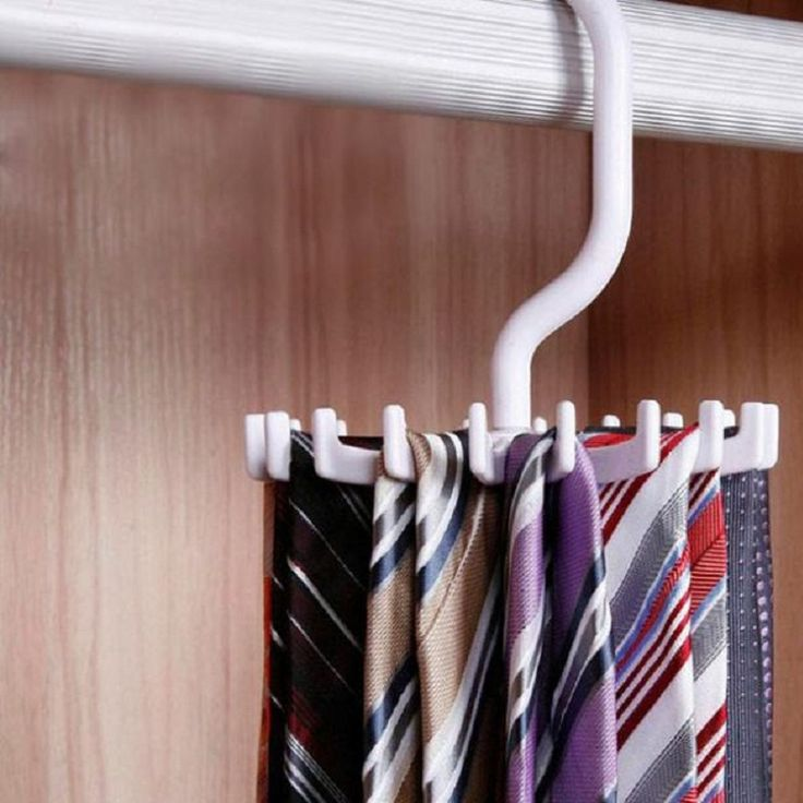 April 29 Mosunx Geschäfts Rotierenden 20 Haken Gürtel Krawatte Halter Rack Hanger Organizer Platzsparende