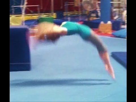 Back Handspring Fear Tips With Coach Meggin!