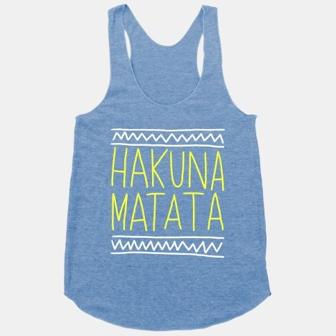 Hakuna Matata (Hand Drawn). Need this for my next Disney trip.