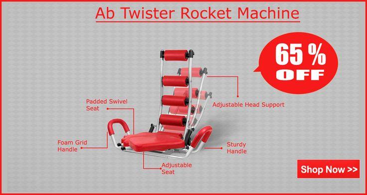Save 65% on AB Twister Abdominal Workout Machine  at http://www.bigdiscount.com.au/ab-rocket-twister-abdominal-workout-machine.html #abtwister #abcruncher #bigdiscount