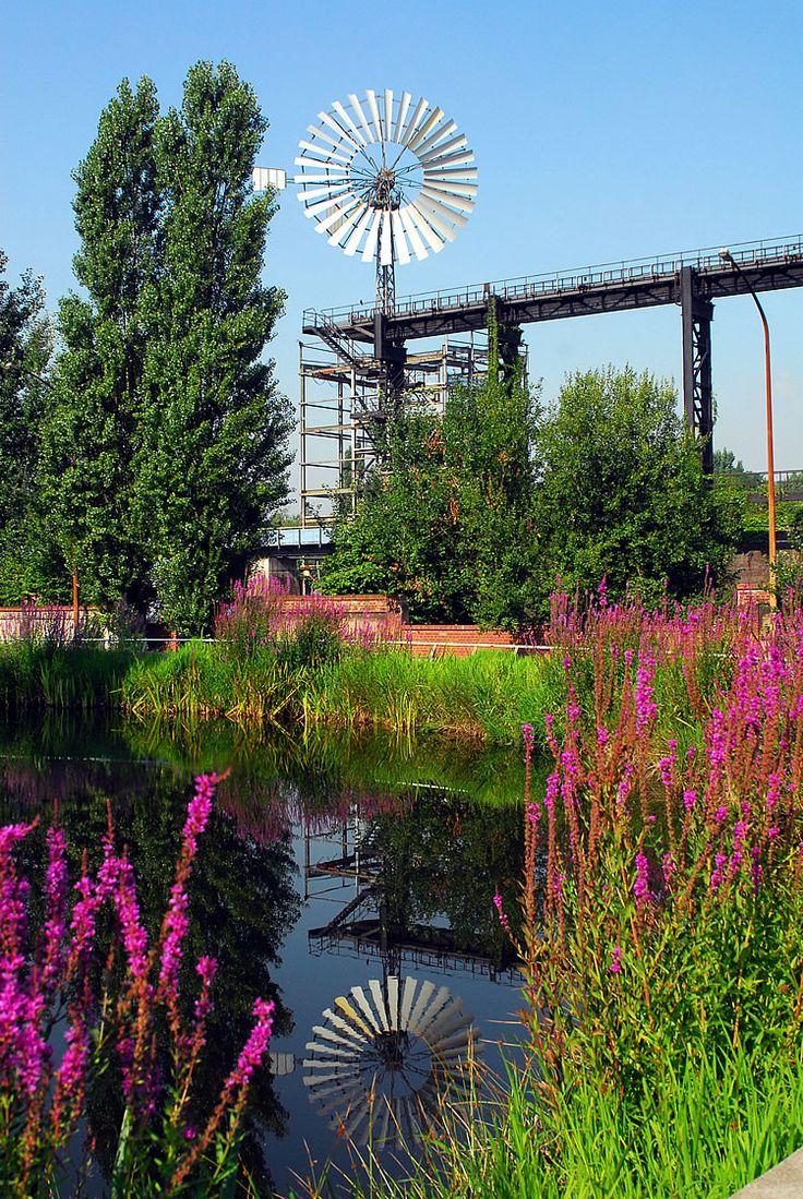 Duisburg-Nord Landscape Park in Kranzburg Germany by Latz+Partner