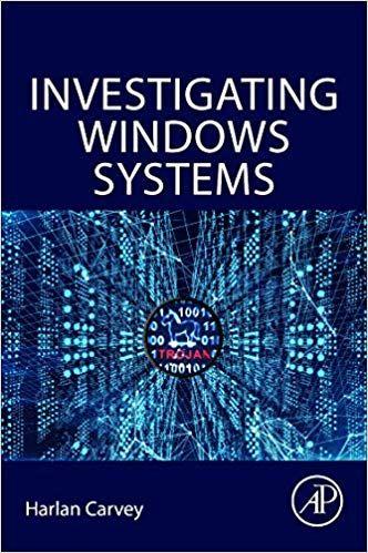 Investigating Windows Systems (9780128114155) Harlan