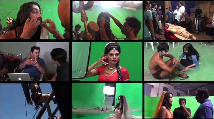 Exclusive behind the scene #kamasutra3d.
