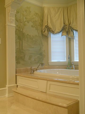 Carol Raley Interiors - Master Bathroom