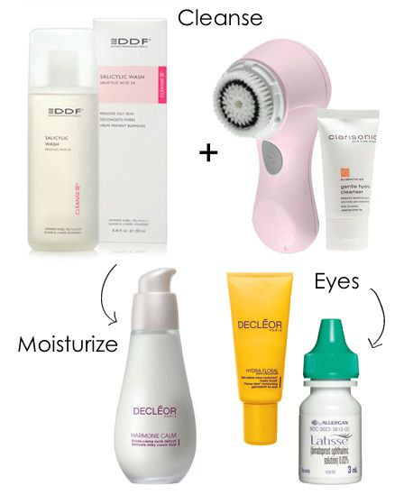Gal Meets Glam: Daily Skin Care Routine