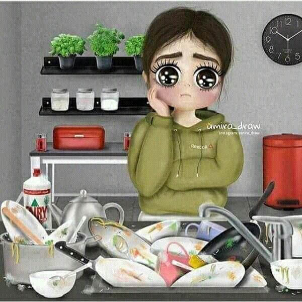 Pin By Haneen Haneen On Girly M Girls Cartoon Art Cute Cartoon Girl Girly Art Illustrations