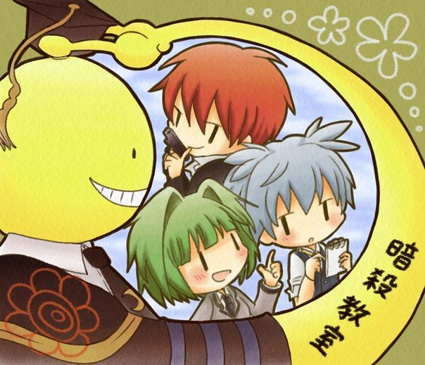 1000 images about assassination classroom on pinterest - Anime wallpaper assassination classroom ...