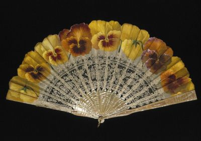 Vintage Fan: 19th Century via  CharmaineZoe