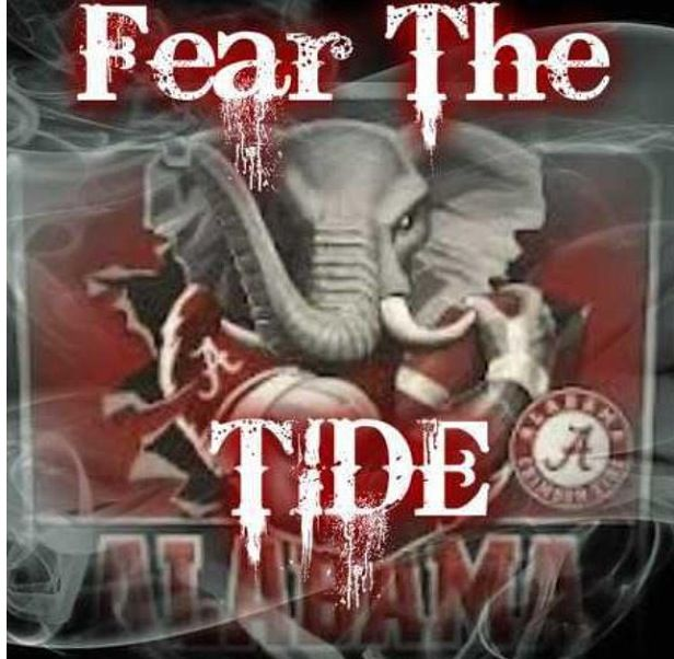 Alabama roll tide