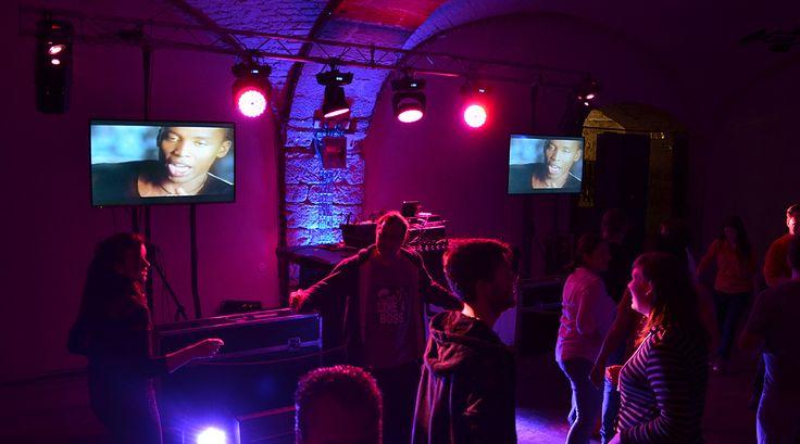 Obchodní centrum videodiskotéka - DJ Jirka Brezina