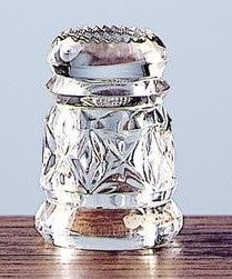 Notes From a Thimble Psycho: Waterford Crystal Thimble