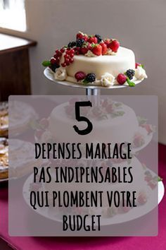 Vous organisez votre mariage et votre budget est limité ? Découvrez 5 types de dépenses (pas vraiment) indispensables qui plombent votre budget.