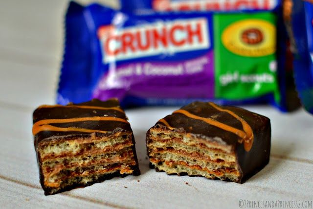Girl Scout Crunch bars