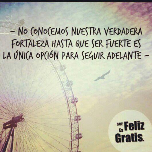 fortaleza #Piensa Positivamente #Frases hermosas #optimismo #motivación  agradecimiento  #sueños #felicidad #amor #retos