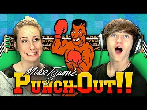 ▶ MIKE TYSON'S PUNCH-OUT!! (Teens React: Retro Gaming) - YouTube