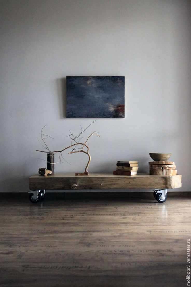 Купить Интерьерная скамья. - скамья интерьерная, дерево в интерьере, ваби-саби, скандинавский стиль