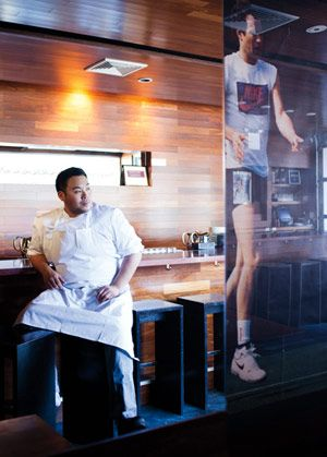 @Bon Appetit Magazine's 20 Most Important Restaurants in America.   Seen here: Momofuku owner and chef David Chang  http://www.bonappetit.com/magazine/20-most-important-restaurants-2013/