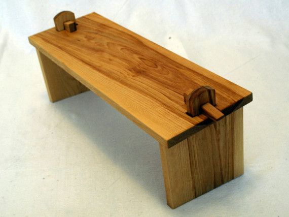 Collapsible Birch Meditation Bench by SleepingForest on Etsy