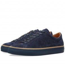 No. 288 Prince Sneaker (Navy Suede)