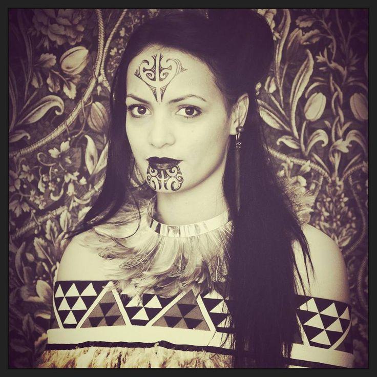 Body Art World Tattoos Maori Tattoo Art And Traditional: Maori Portrait #Maori#tattoo