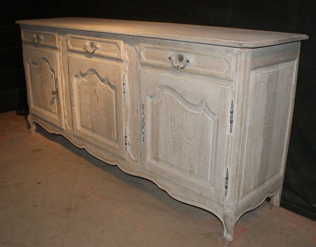 French oak enfilade antique french bleached oak enfilade nice light colour - Buffet enfilade vintage ...