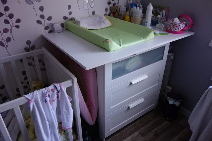 Faire sa propre commode à langer - Ikea Brimnes inside :-) - Jardin et Maison