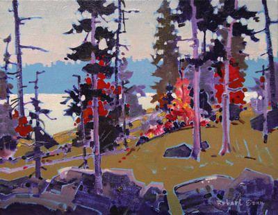October Pattern by Robert Genn