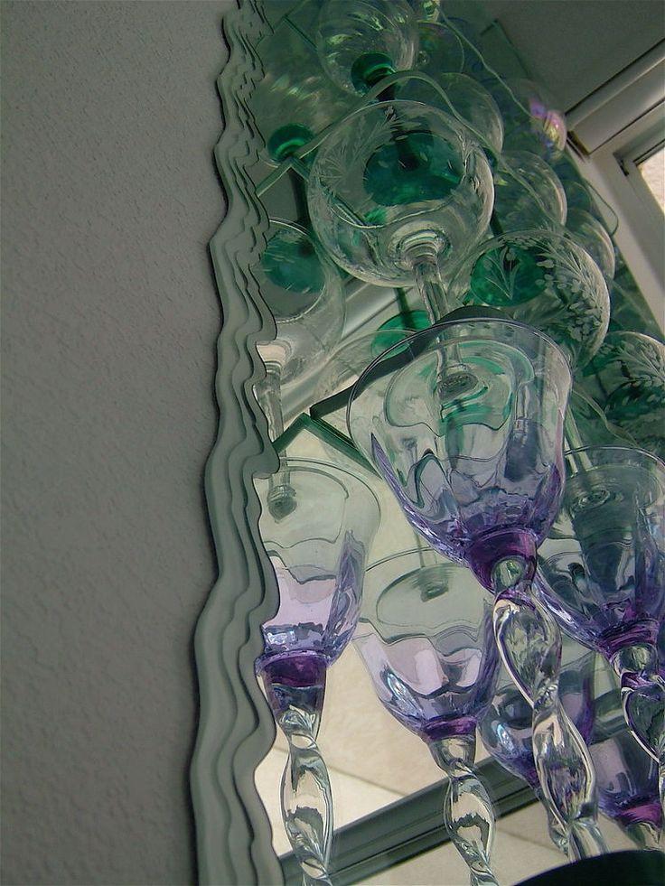 44 best custom mirrors images on pinterest custom for Custom mirror glass