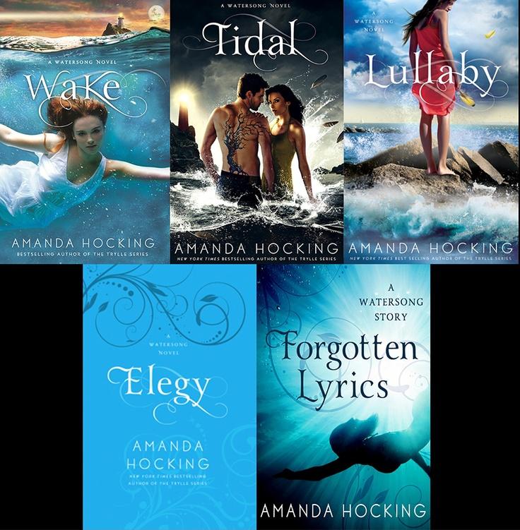 Watersong Series ~ Amanda Hocking