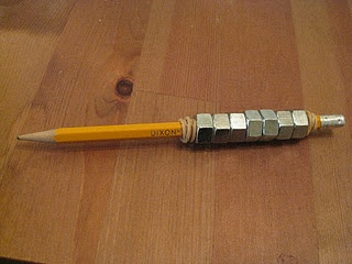 DIY weighted pencil