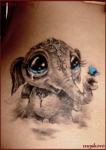 matriarch elephant tattoo - Google Search
