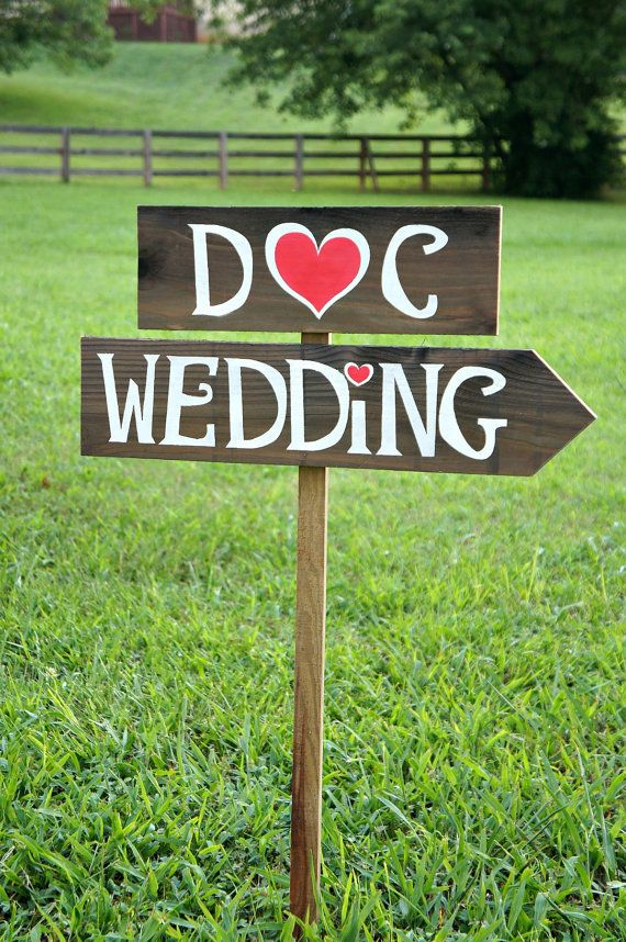Rustic Wedding Signs Country Wedding Decor by CountryWeddingSigns, $50.00