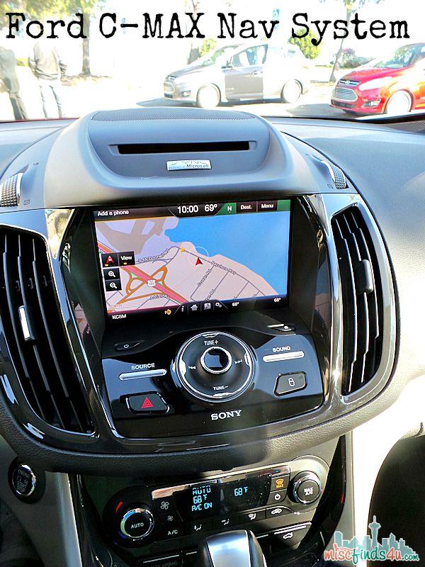 2014 Ford C-MAX Hybrid Nav System Ad  #cmaxdrive