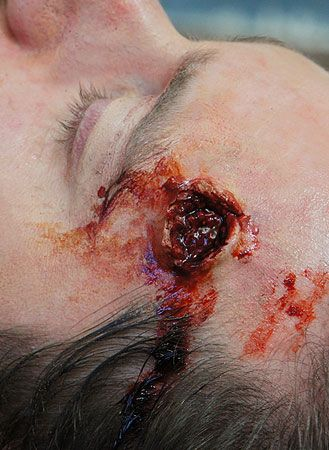 exit wound special fx makeup