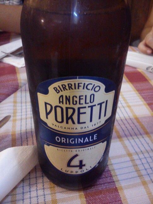 Angelo Poretti 4 Luppoli Originale Beer, 5.5º; Italian.